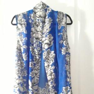 Chiffon robe shirt
